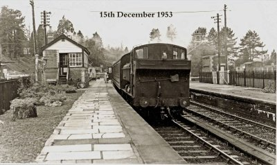 Bromyard Station 15th December 1953.jpg - 103238 Bytes